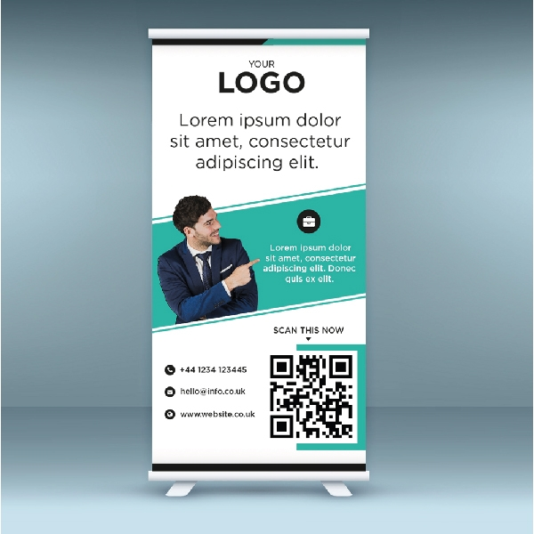 Print a Standard Pull Up Roller Banners (800*2000)