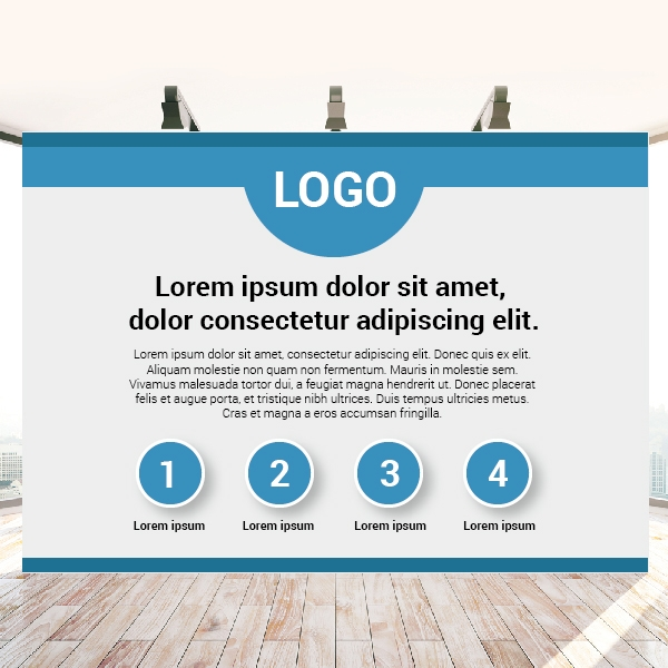 Print Wide Roller Banners (1000*2000)
